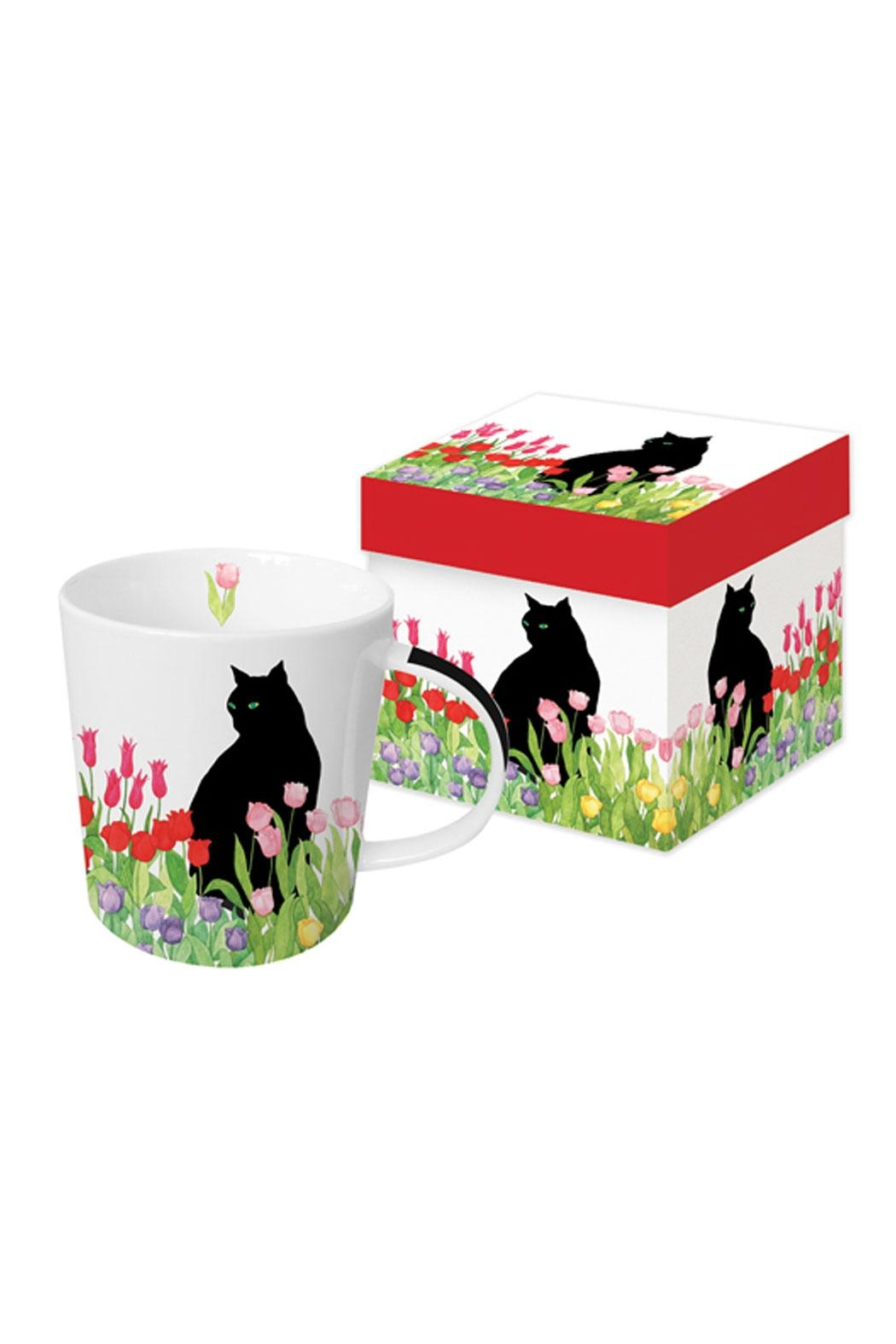 Paperproducts Design Cat Gift Boxed Mug - Front Cropped Image