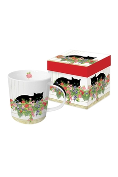 Shoptiques Product: Cat Gift Boxed Mug