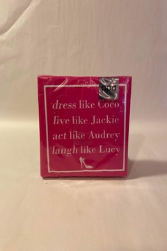 Paperproducts Design Coco, Jackie, Audrey, Lucy Napkin - Alternate List Image