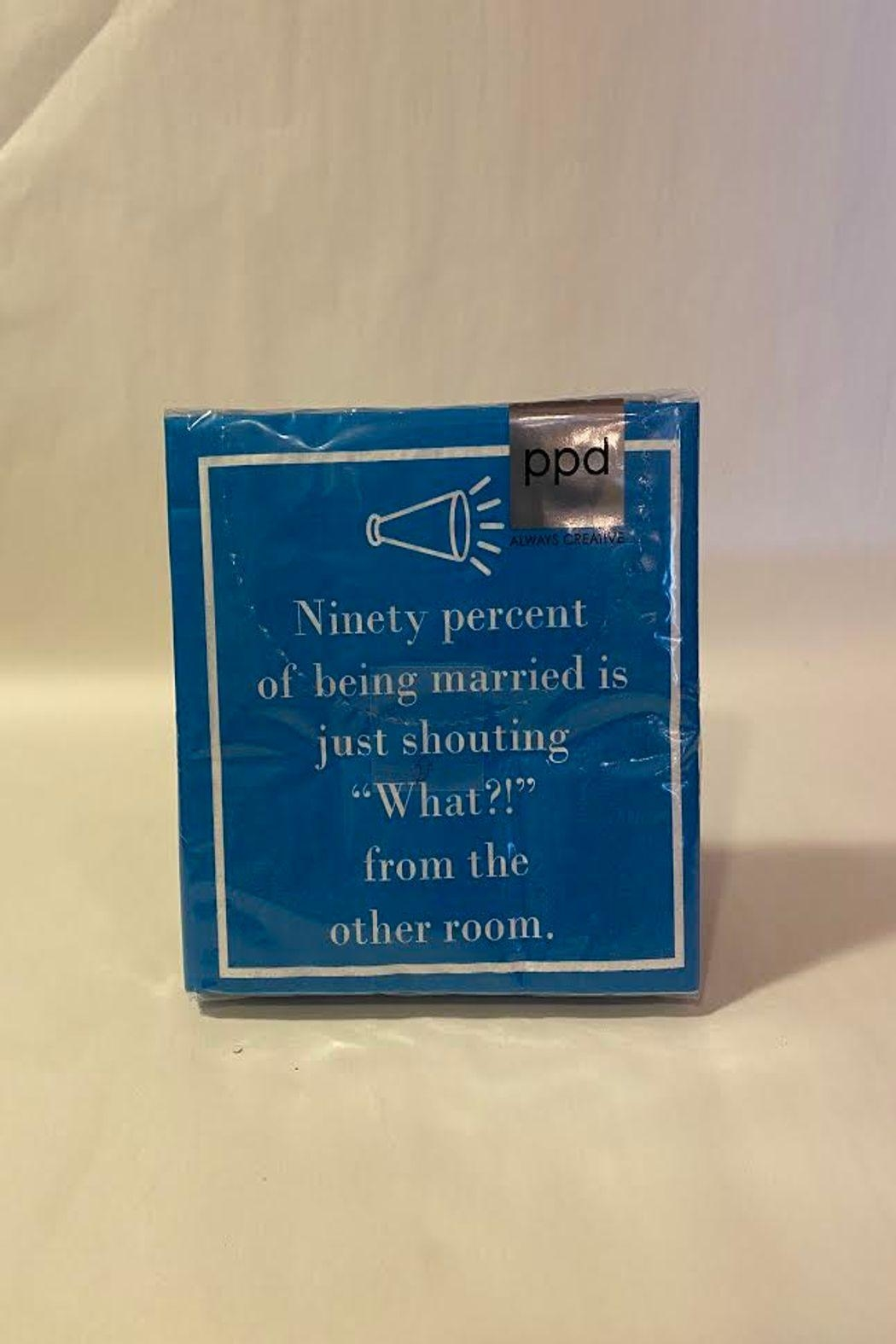 Paperproducts Design Marriage Napkins - Main Image