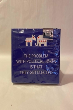 Paperproducts Design Political Jokes Napkin - Product List Image