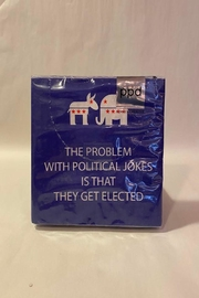 Paperproducts Design Political Jokes Napkin - Product Mini Image