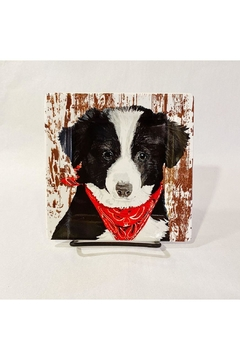 Paperproducts Design Small Bandana Puppy Plate - Alternate List Image