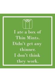 "Paperproducts Design ""Thin Mints"" Cocktail Napkin - Product Mini Image"