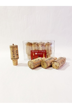 Paperproducts Design Wine Cork Candle - Alternate List Image