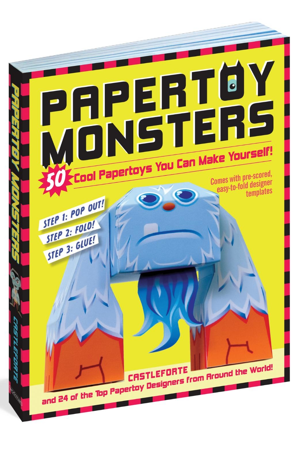 Workman Publishing Papertoy Monsters - Main Image