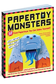 Workman Publishing Papertoy Monsters - Front cropped