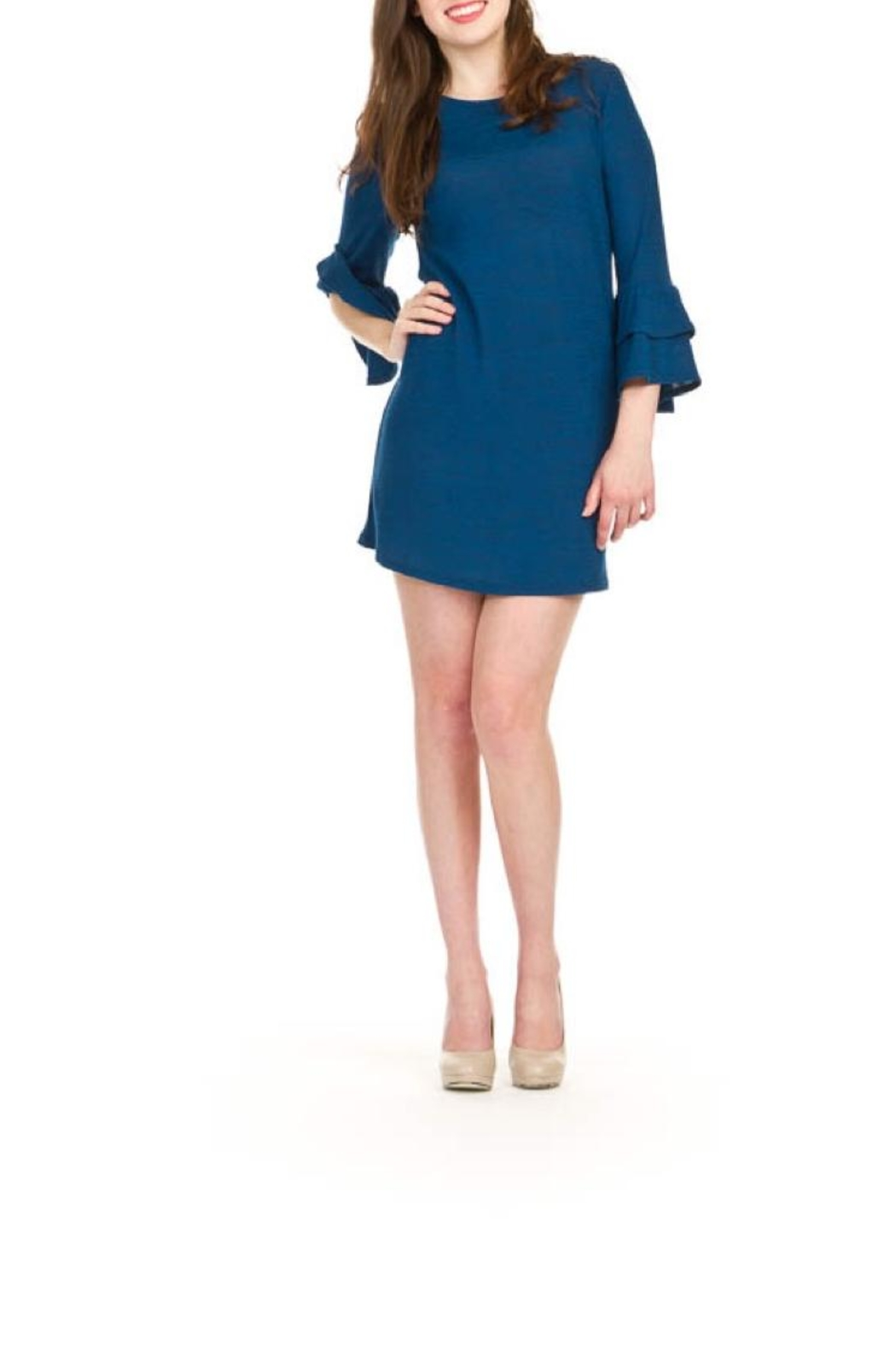 Papillon Bell Sleeve Dress - Main Image