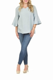 Papillon Bell Sleeve Top - Front cropped