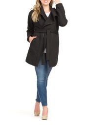 Papillon Belted Coat - Product Mini Image