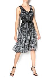 Papillon Black Ribbon Dress - Product Mini Image