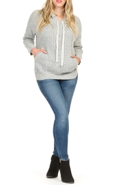 Papillon Cable Knit Hoodie - Product Mini Image