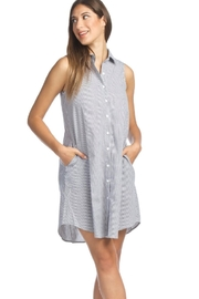 Papillon Casual Dress With Pockets - Product Mini Image