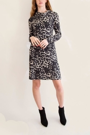 Papillon Cheetah Cowl Neck Dress - Product Mini Image