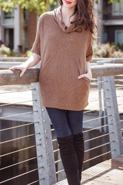 Papillon Cowl Neck Pullover - Product Mini Image