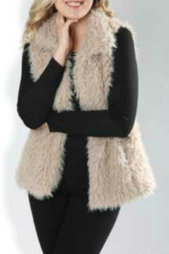Papillon Faux Fur Vest - Product List Image
