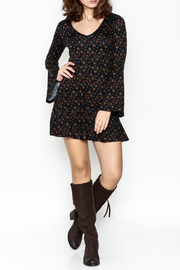 Papillon Floral Swing Dress - Side cropped