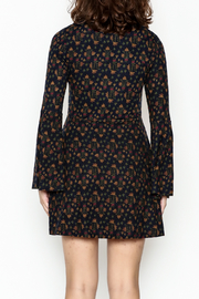 Papillon Floral Swing Dress - Back cropped
