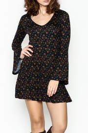Papillon Floral Swing Dress - Front cropped