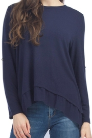 Papillon Georgette Underlay Top - Front cropped