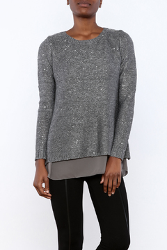 Shoptiques Product: Layered Sequin Sweater