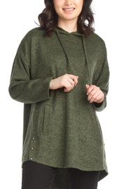 Papillon Over Sized Green Hoodie - Product Mini Image
