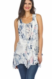 Papillon Print Summer Tunic - Product Mini Image
