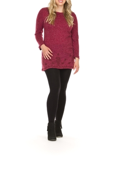 Papillon Raspberry Tunic Top - Product List Image