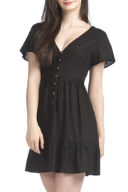 Papillon Shorty Cap Sleeve Dress - Product Mini Image