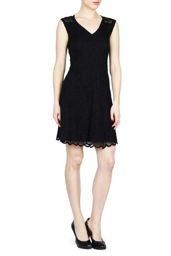 Shoptiques Product: A Line Lace Dress  - main