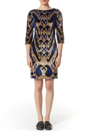 PAPILLON BLANC Printed Classic Shift Dress - Product Mini Image
