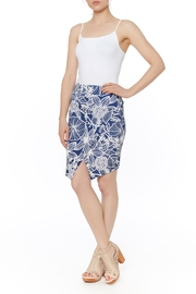 PAPILLON BLANC Faux Wrap Skirt - Product Mini Image