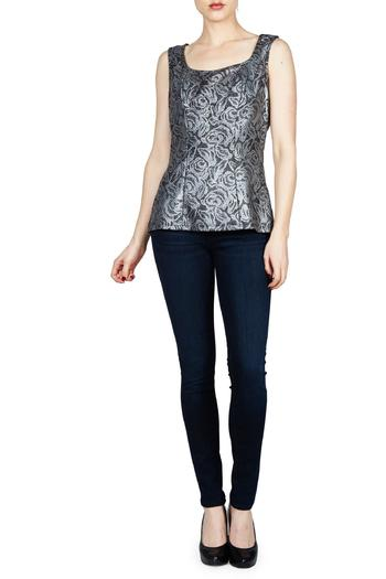 Shoptiques Product: Floral Fitted Tank - main