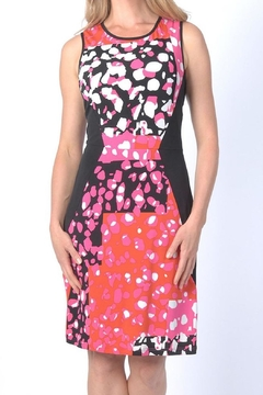PAPILLON BLANC Gossip Pink/orange Dress - Alternate List Image