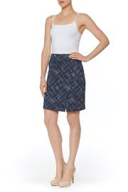 PAPILLON BLANC Plaid Skirt - Product Mini Image