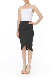 PAPILLON BLANC Side Ruched Skirt - Product Mini Image