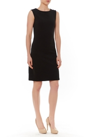 PAPILLON BLANC Black Sleeveless Shift Dress - Product Mini Image