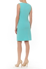 PAPILLON BLANC Sleevless Shift Dress - Front full body