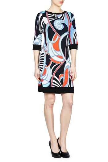 Shoptiques Product: Swirl Shift Dress - main