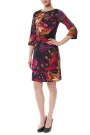PAPILLON BLANC Vibrant Print Dress - Product Mini Image