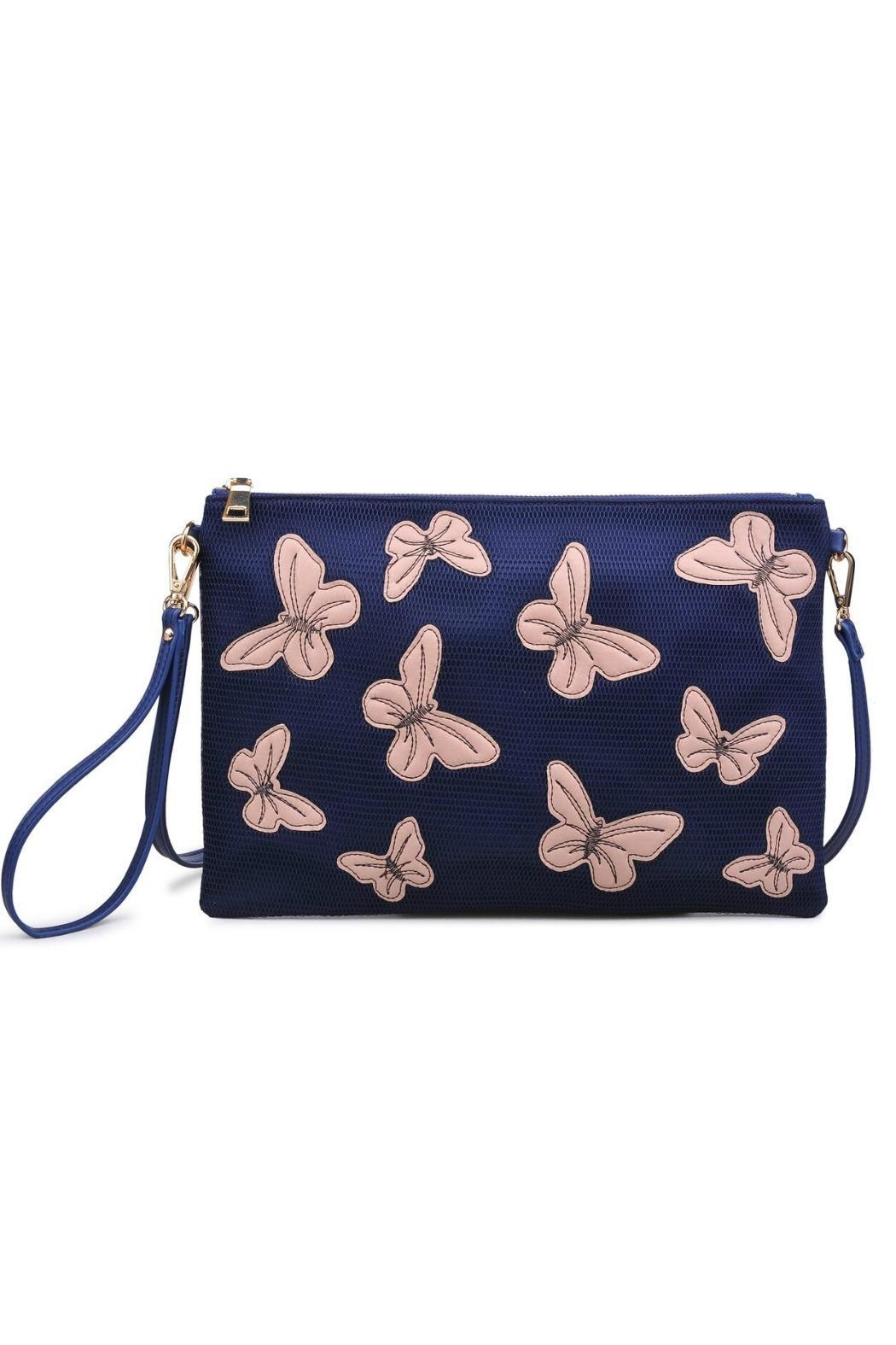 Urban Expressions Pappillon Crossbody Clutch - Main Image