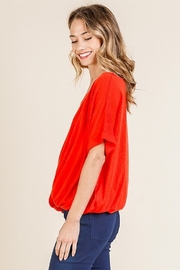 Umgee  Paprika Top - Front full body
