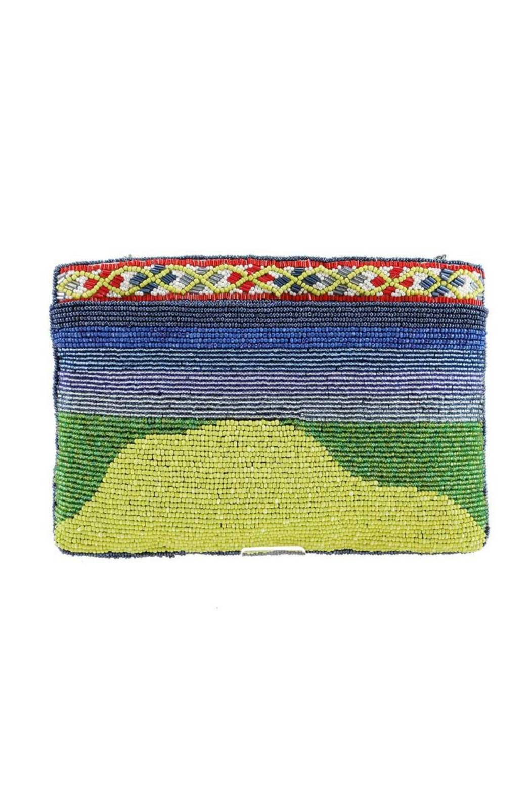Mary Frances Par-Tee Beaded Clutch - Front Full Image