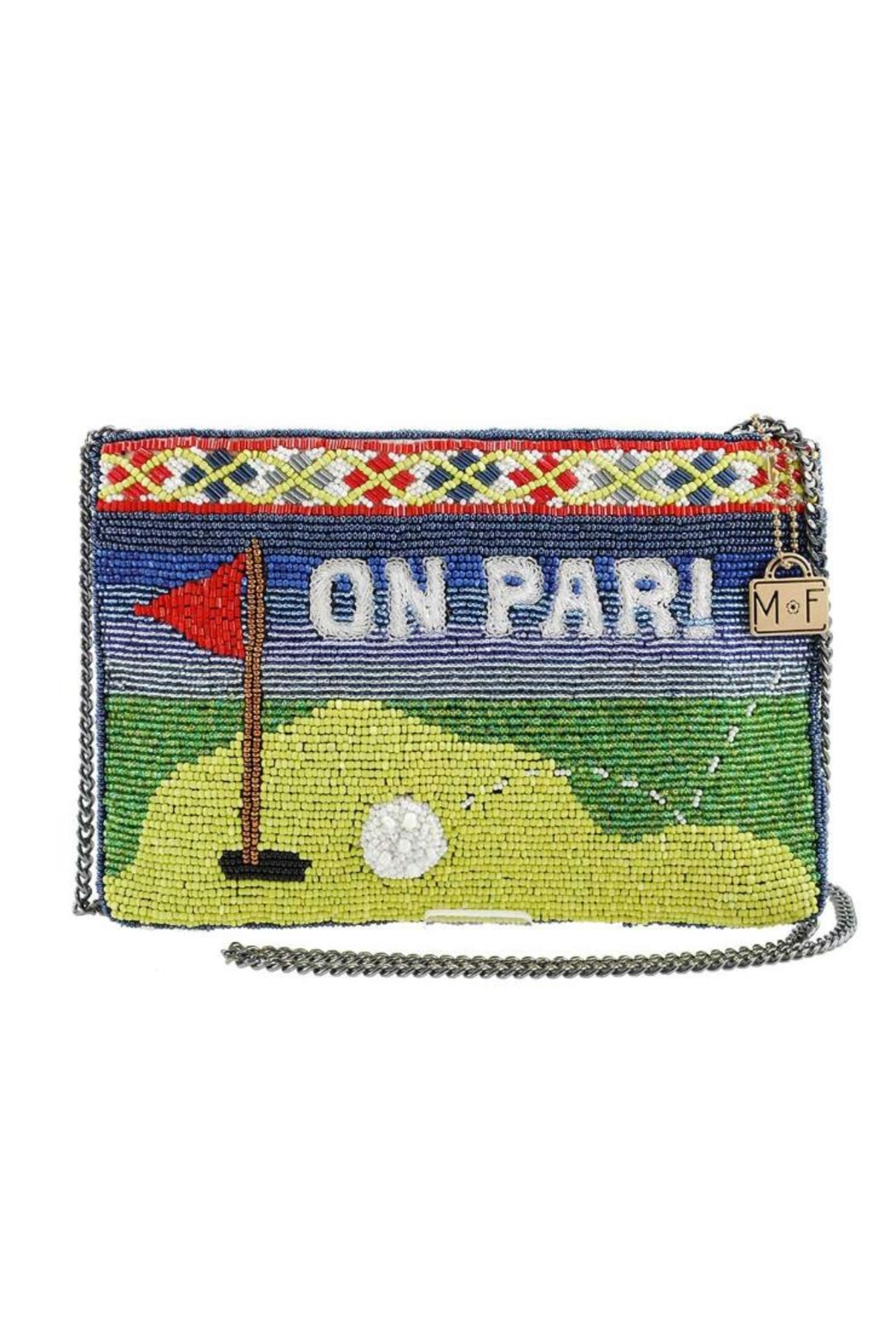 Mary Frances Par-Tee Beaded Clutch - Front Cropped Image
