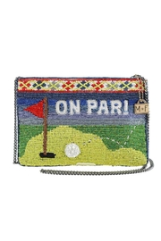 Mary Frances Par-Tee Beaded Clutch - Front cropped
