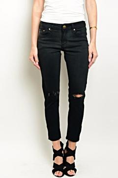 Shoptiques Product: Black Cropped Denim