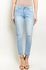 Para Lightwash Ankle Denim - Product Mini Image