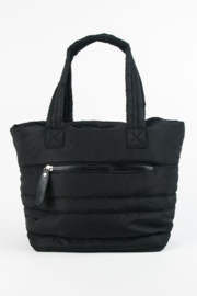 Sondra Roberts Parachute Puffer Tote - Front cropped