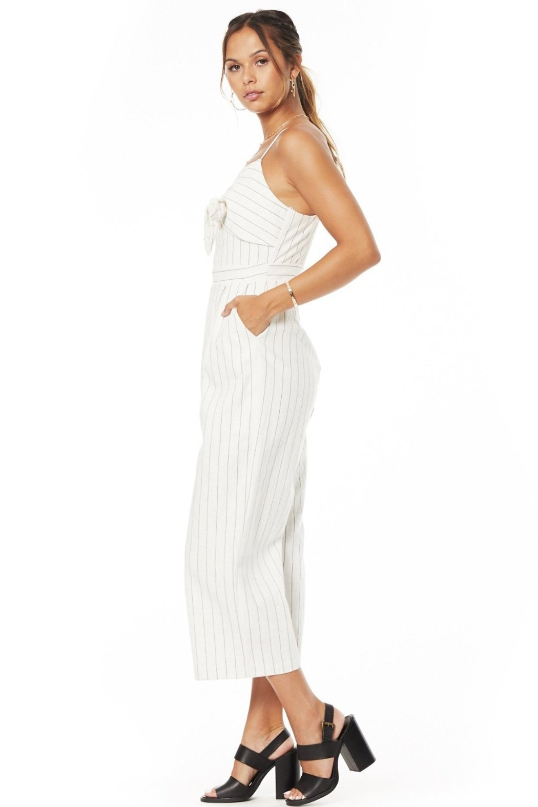 Lost + Wander Paradise Cove Jumpsuit - Front Full Image