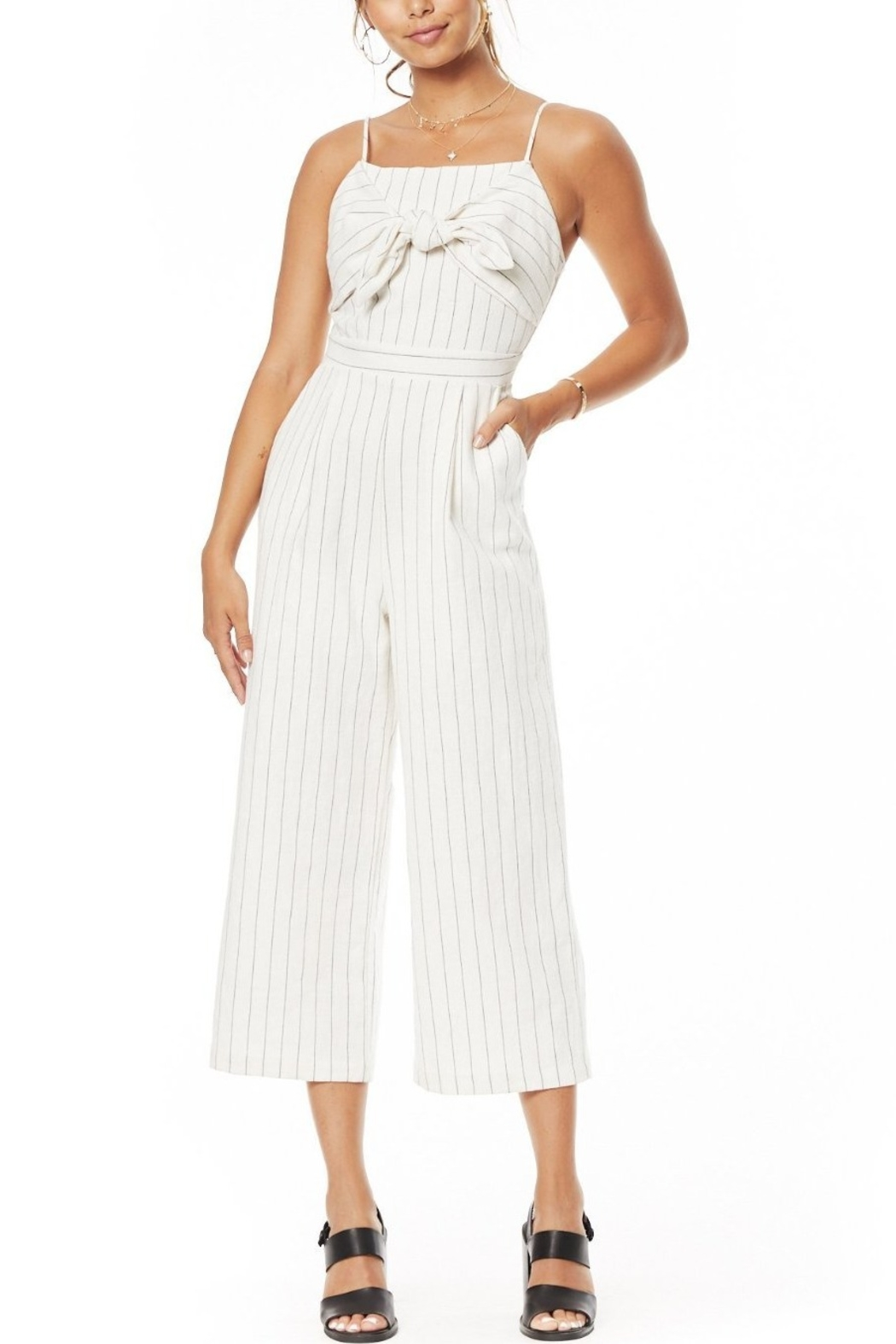 Lost + Wander Paradise Cove Jumpsuit - Front Cropped Image
